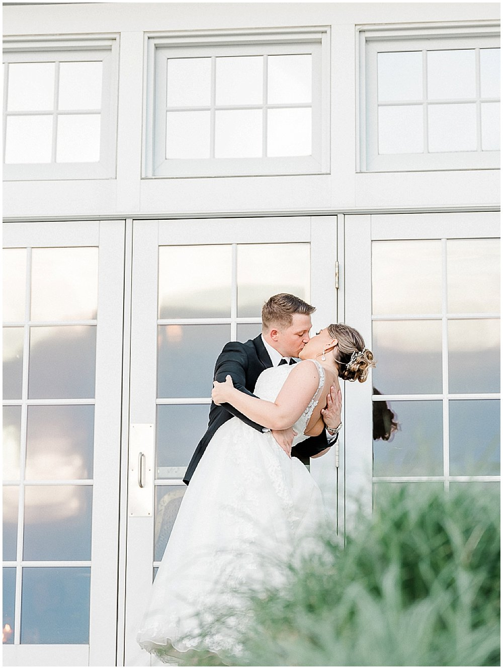 A black tie wedding at the Chesapeake Bay Beach Club on the Eastern Shore of Maryland.