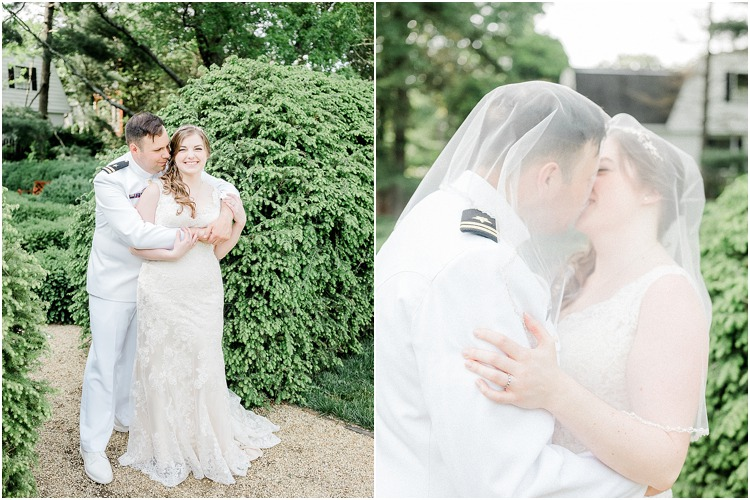 Wedding at William Paca House in Downtown Annapolis, Maryland shot by Kira Nicole Photography