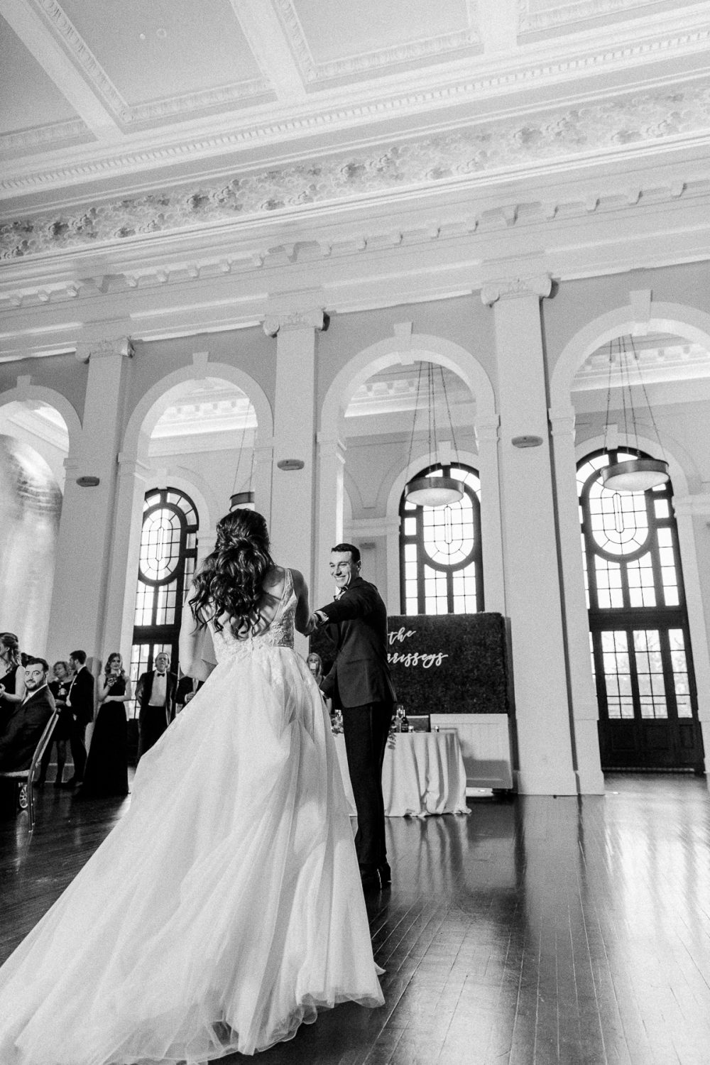 Elegant, luxurious wedding at the Sagamore Pendry in Baltimore, Maryland.