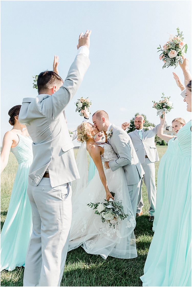 A rustic fairy tale wedding at Wyndridge Farm in Dallastown, Pennsylvania.