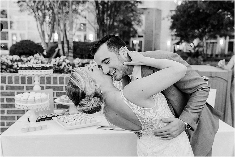 A fun, emotional wedding at the Hyatt in Cambridge, Maryland.