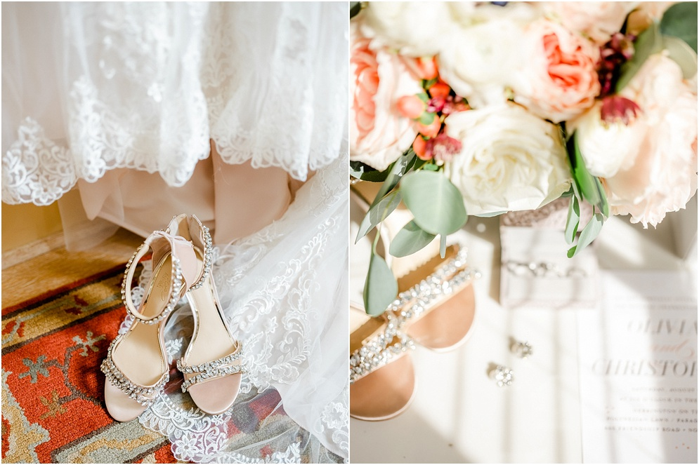 An elegant wedding at Herrington on the Bay, which is an Annapolis waterfront wedding venue. This wedding used reds & blushes to add romance.