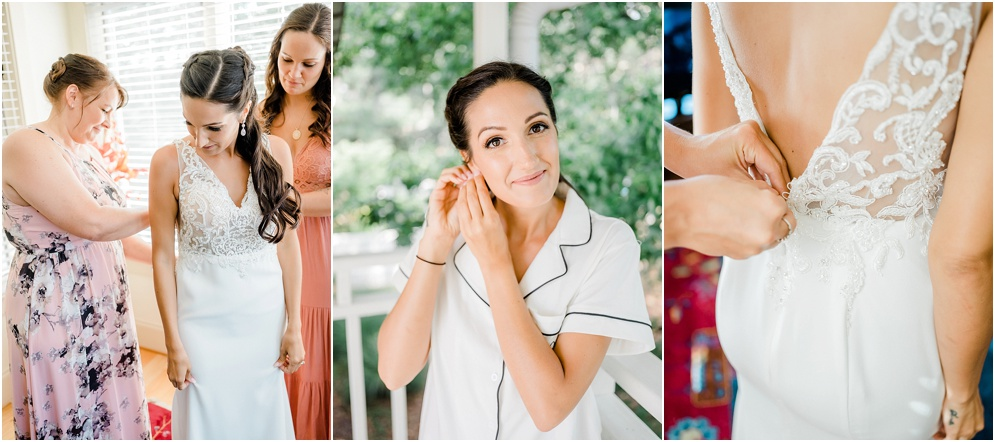 A colorful, island inspired wedding at Herrington on the Bay.